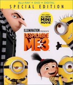 Despicable Me 3 Blu-ray Box Art