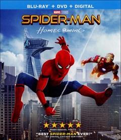 Spider-Man: Homecoming Blu-ray Box Art