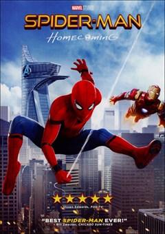 Spider-Man: Homecoming DVD Box Art