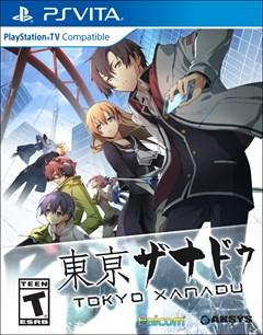 Tokyo Xanadu PlayStation Vita Box Art