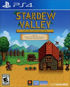 Stardew Valley PlayStation 4 Box Art