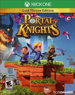 Portal Knights: Gold Throne Edition Xbox One Box Art