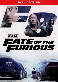 The Fate of the Furious DVD Box Art