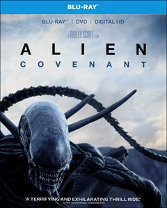 Alien: Covenant Blu-ray Box Art