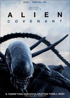Alien: Covenant DVD Box Art
