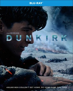 Dunkirk Blu-ray Box Art