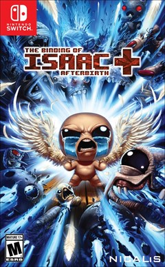 The Binding of Isaac: Afterbirth+ Nintendo Switch Box Art