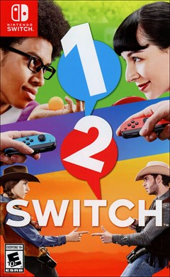 1-2-Switch Nintendo Switch Box Art
