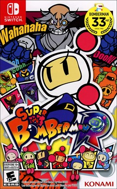 Super Bomberman R Nintendo Switch Box Art