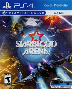 Starblood Arena PlayStation 4 Box Art