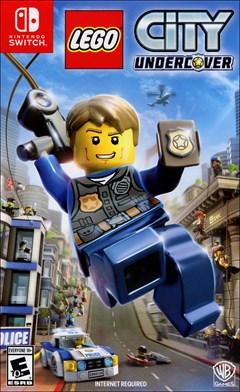 LEGO City Undercover Nintendo Switch Box Art