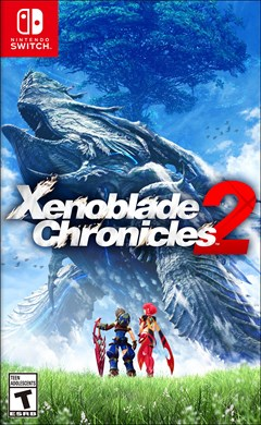 Xenoblade Chronicles 2 Nintendo Switch Box Art