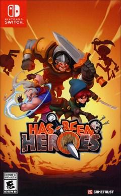 Has-Been Heroes Nintendo Switch Box Art