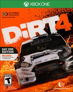 Dirt 4 Xbox One Box Art