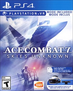 Ace Combat 7: Skies Unknown PlayStation 4 Box Art