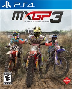 MXGP 3 PlayStation 4 Box Art