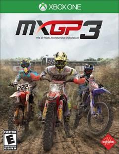 MXGP 3 Xbox One Box Art