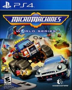 Micro Machines World Series PlayStation 4 Box Art