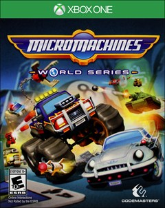 Micro Machines World Series Xbox One Box Art