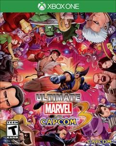 Ultimate Marvel vs Capcom 3 Xbox One Box Art