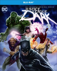 Justice League Dark Blu-ray Box Art