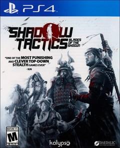 Shadow Tactics: Blades of the Shogun PlayStation 4 Box Art