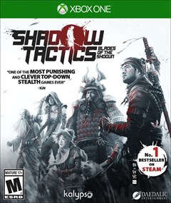 Shadow Tactics: Blades of the Shogun Xbox One Box Art