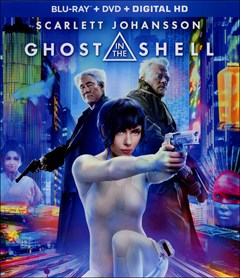 Ghost in the Shell (2017) Blu-ray Box Art