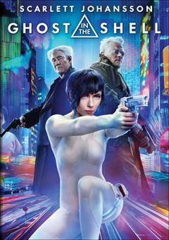 Ghost in the Shell (2017) DVD Box Art
