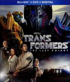 Transformers: The Last Knight Blu-ray Box Art