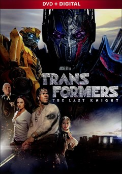 Transformers: The Last Knight DVD Box Art