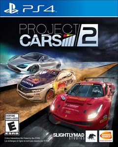 Project CARS 2 PlayStation 4 Box Art