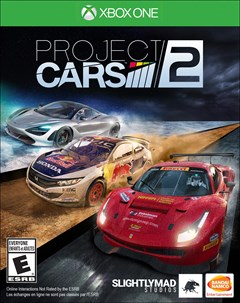 Project CARS 2 Xbox One Box Art