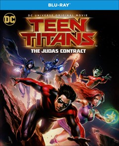 Teen Titans: The Judas Contract Blu-ray Box Art