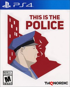 This is the Police PlayStation 4 Box Art