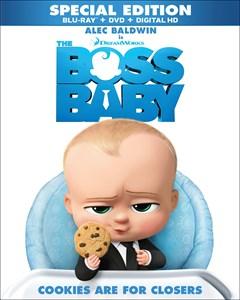The Boss Baby Blu-ray Box Art