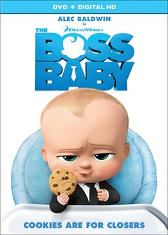 The Boss Baby DVD Box Art