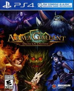 ArmaGallant: Decks of Destiny PlayStation 4 Box Art