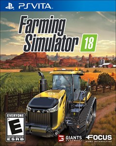 Farming Simulator 18 PlayStation Vita Box Art
