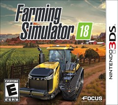 Farming Simulator 18 Nintendo 3DS Box Art