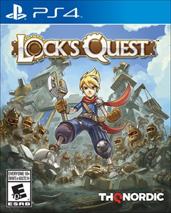 Lock's Quest PlayStation 4 Box Art
