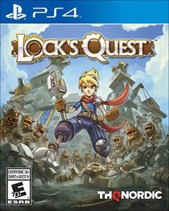 Lock's Quest PlayStation 4 Box Art