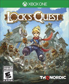 Lock's Quest Xbox One Box Art