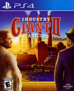 Industry Giant 2 PlayStation 4 Box Art