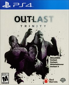 Outlast Trinity PlayStation 4 Box Art