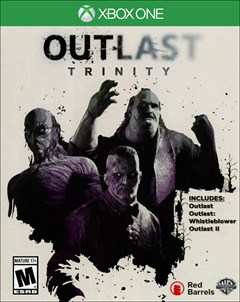Outlast Trinity Xbox One Box Art