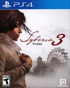 Syberia 3 PlayStation 4 Box Art