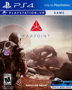 Farpoint PlayStation 4 Box Art