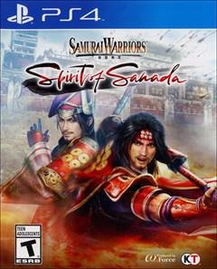 Samurai Warriors: Spirit of Sanada PlayStation 4 Box Art