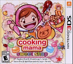 Cooking Mama: Sweet Shop Nintendo 3DS Box Art
